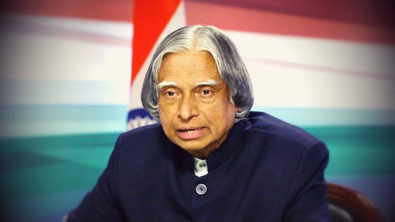 APJ Abdul Kalam biography