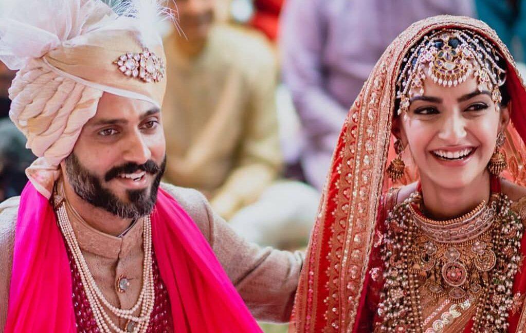 Anand Ahuja and Sonam Kapoor