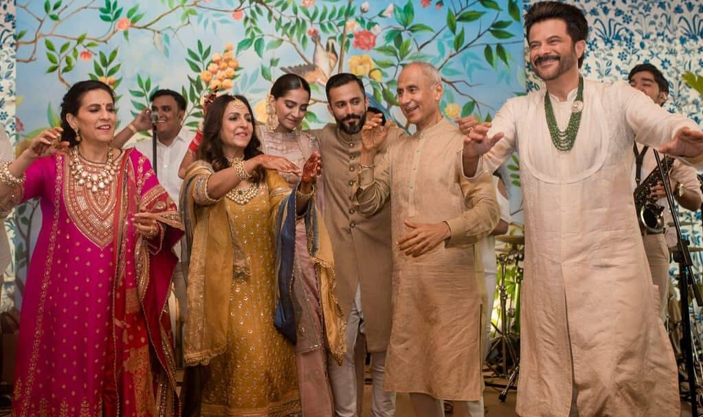 Anand Ahuja Family Photo