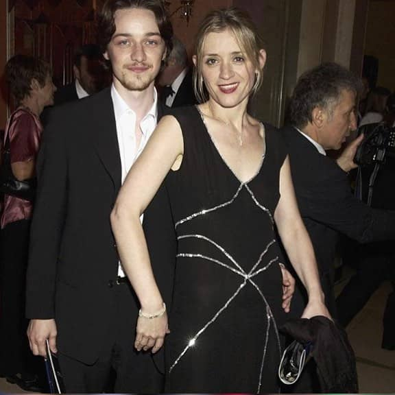 Anne-Marie Duff and James McAvoy Image