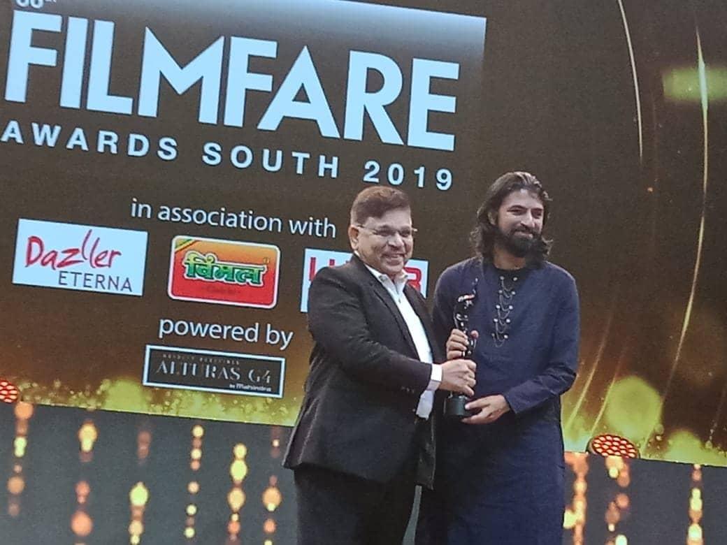 nag ashwin awarding image