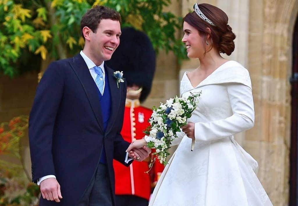 Jack Brooksbank marriage image