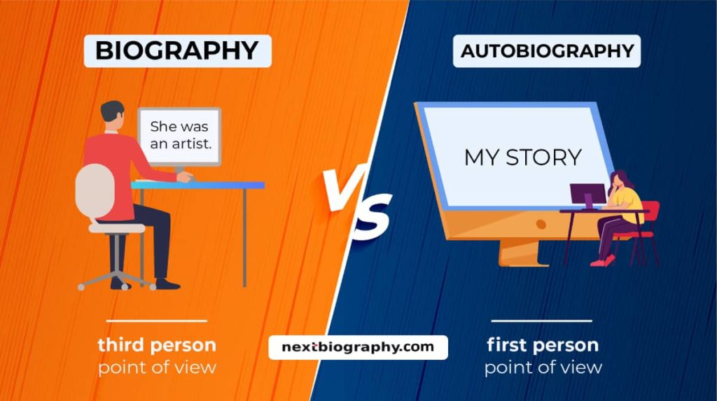 biography vs autobiography - what is the difference between a biography and autobiography