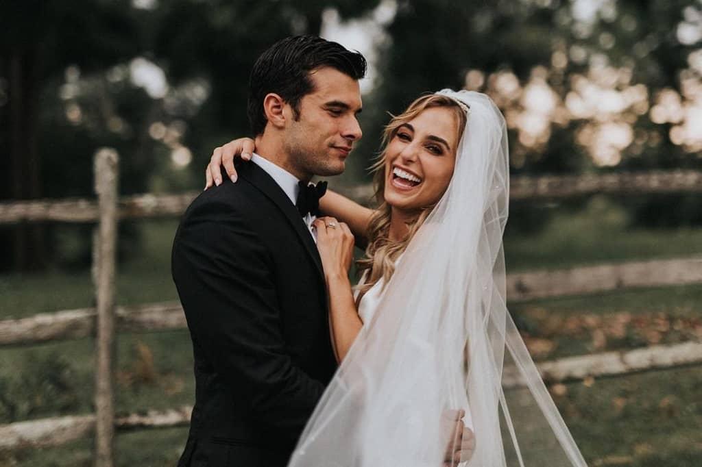 Actress Lorynn and Husband Josh Swickard marriage pic