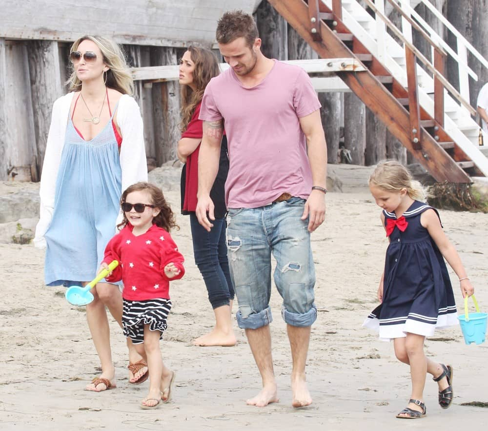 Cam Gigandet family with wife and kids