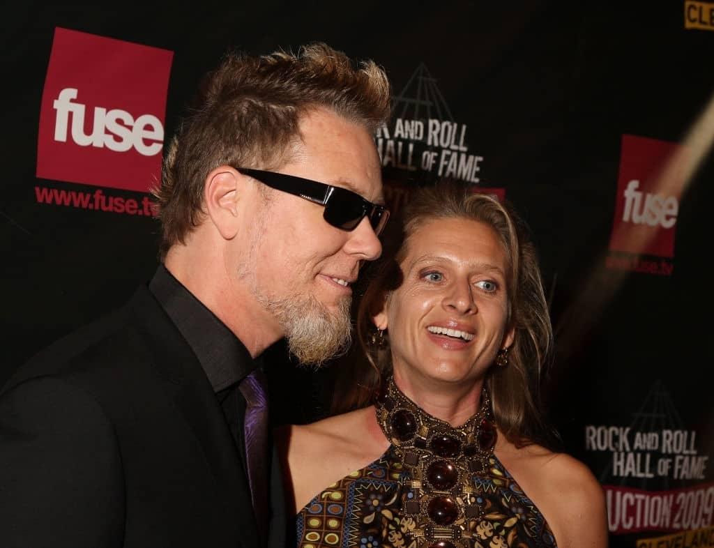 Francesca Hetfield Wife of James Hetfield