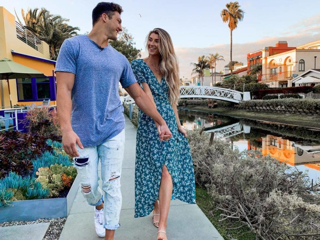 Josh Brueckner with ex-girlfriend
