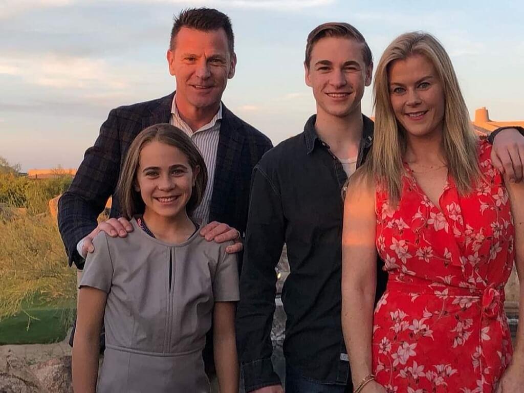 David Sanov family picture
