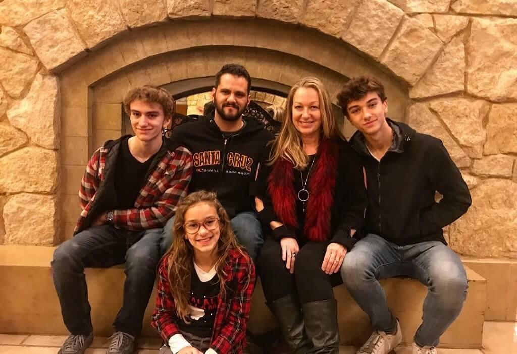 Gavin Casalegno family